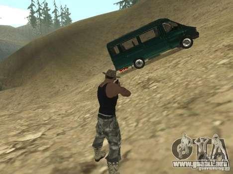GAZ 32213 para vista lateral GTA San Andreas