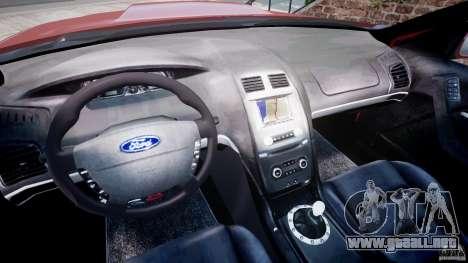 Ford Falcon XR-8 para GTA 4 vista hacia atrás