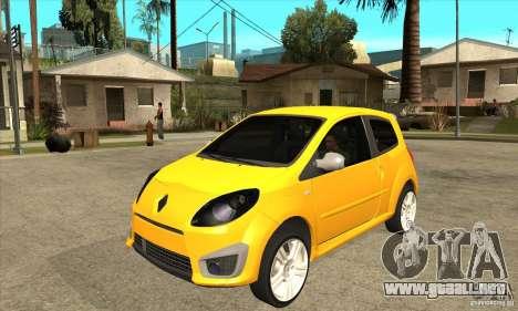 Renault Twingo RS 2009 para GTA San Andreas