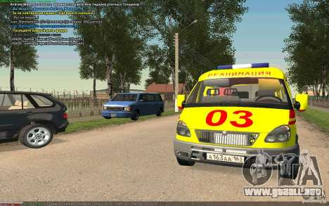 Emergencia de gas para GTA San Andreas left