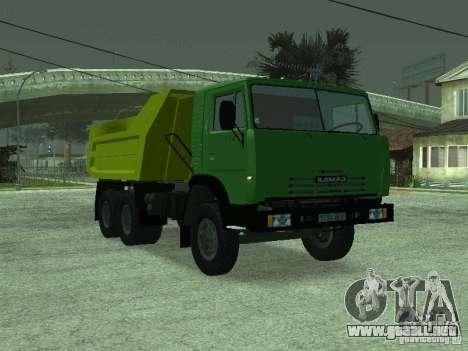 KAMAZ 55112 para GTA San Andreas