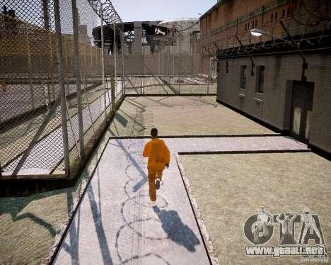 The prison Rob para GTA 4 adelante de pantalla