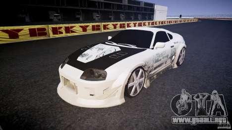Toyota Supra ProStreet Style para GTA 4