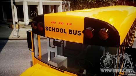 School Bus [Beta] para GTA 4 interior