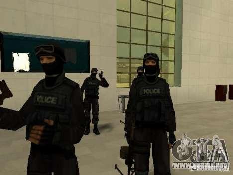 Ayuda Swat para GTA San Andreas sucesivamente de pantalla