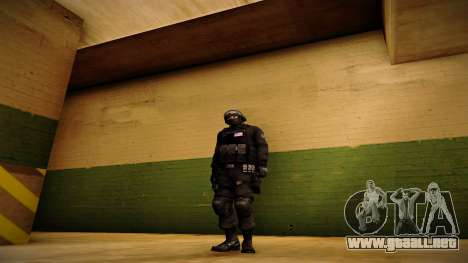 S.W.A.T. para GTA San Andreas segunda pantalla