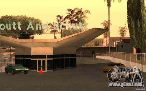Car Buy para GTA San Andreas sucesivamente de pantalla