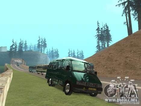 GAZ 32213 para la visión correcta GTA San Andreas