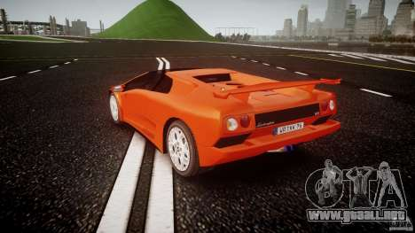Lamborghini Diablo 6.0 VT para GTA 4 Vista posterior izquierda