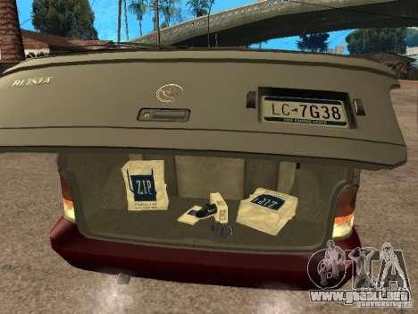 HD Blista para GTA San Andreas vista hacia atrás