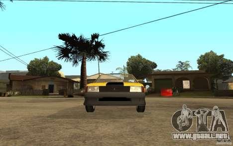 Moskvich 2141 Cabriolet para GTA San Andreas vista hacia atrás