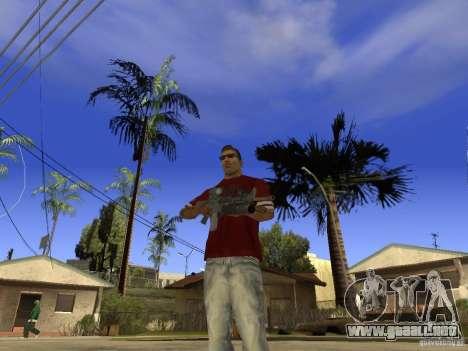 M4 Arma para GTA San Andreas segunda pantalla