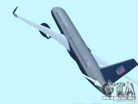 Boeing 757-200 United Airlines para GTA San Andreas left