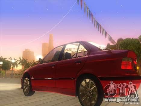 BMW E36 para GTA San Andreas left