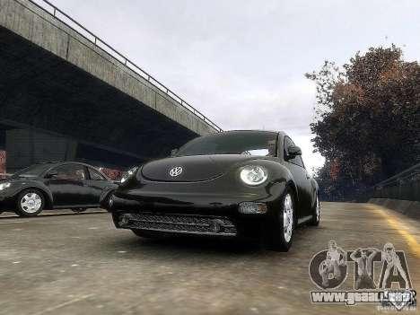 Volkswagen Beetle para GTA 4 left