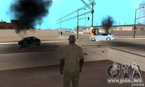 Hot adrenaline effects v1.0 para GTA San Andreas twelth pantalla