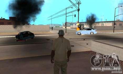 Hot adrenaline effects v1.0 para GTA San Andreas twelth pantalla