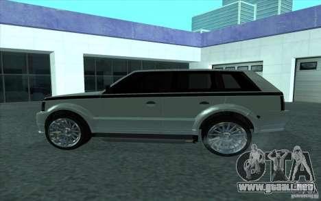 Huntley de GTA 4 para GTA San Andreas left
