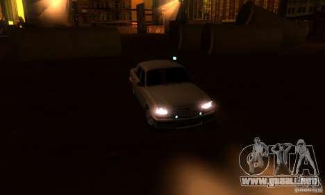 GAZ 31105 Volga abogado para vista lateral GTA San Andreas