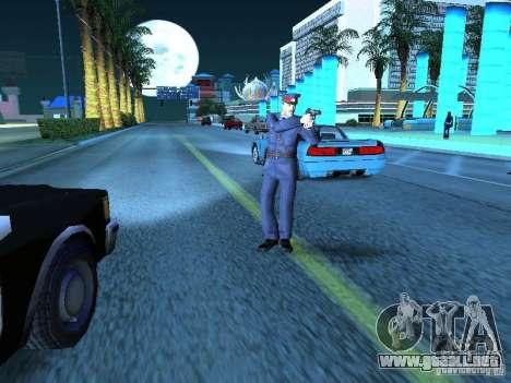 Policía de la URSS para GTA San Andreas quinta pantalla