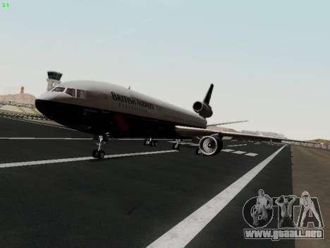 McDonell Douglas DC-10-30 British Airways para GTA San Andreas