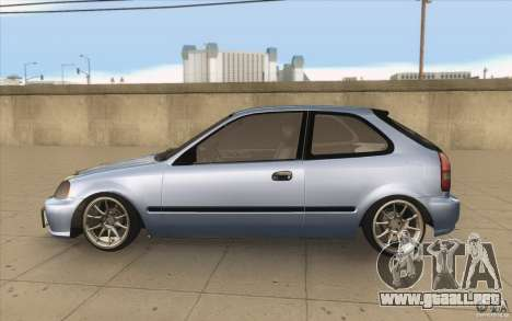 Honda Civic EK9 JDM v1.0 para GTA San Andreas left