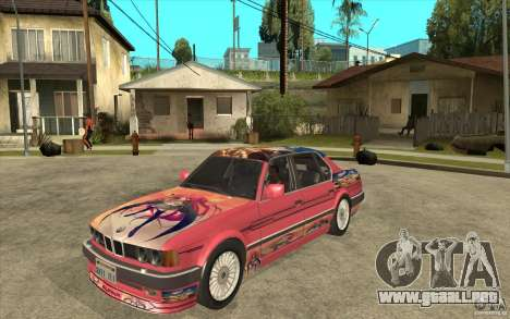 BMW E32 7-er Alpina B12 para GTA San Andreas left