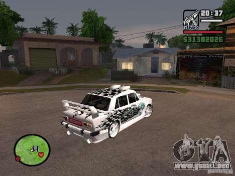 VAZ 2101 coches tuning para GTA San Andreas left