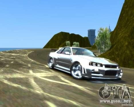 Rocky Drift Island para GTA 4 segundos de pantalla