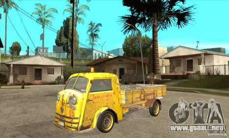 Tempo Matador 1952 Bus Barn version 1.1 para GTA San Andreas
