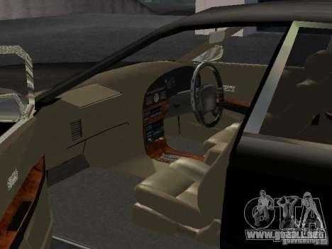 Nissan President JS para visión interna GTA San Andreas