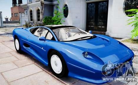 Jaguar XJ 220 para GTA 4 visión correcta