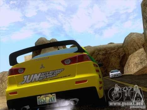 Downhill Drift para GTA San Andreas séptima pantalla