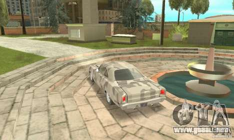 Plymouth Roadrunner 383 para la vista superior GTA San Andreas