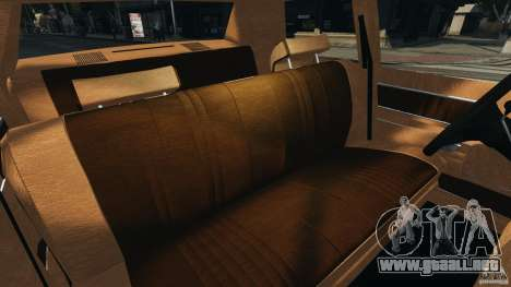 Dodge Monaco 1974 Taxi v1.0 para GTA 4 vista interior