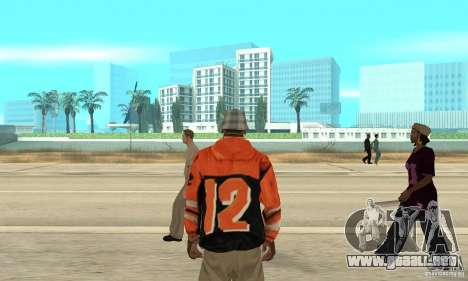 Sudadera con capucha 2 para GTA San Andreas tercera pantalla