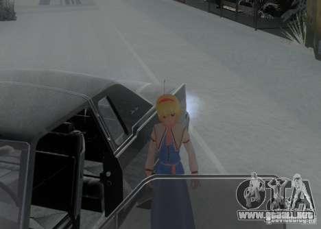 Anime Characters para GTA San Andreas séptima pantalla