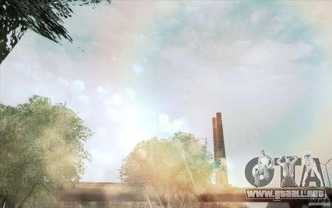 Lensflare para GTA San Andreas segunda pantalla