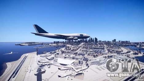 Pan Am Conversion para GTA 4 visión correcta