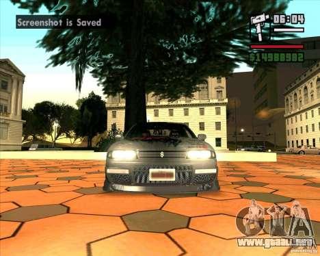 Nissan Skyline r33 para GTA San Andreas left