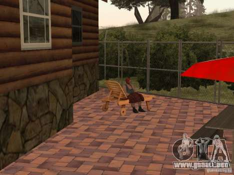 Nueva villa de CJ para GTA San Andreas octavo de pantalla