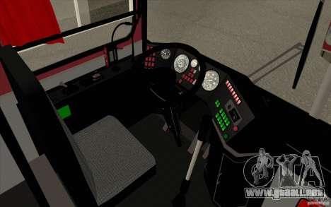 IKARUS 250 para la vista superior GTA San Andreas