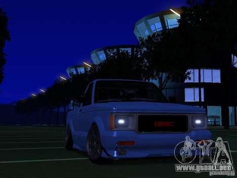 GMC Syclone Drift para GTA San Andreas
