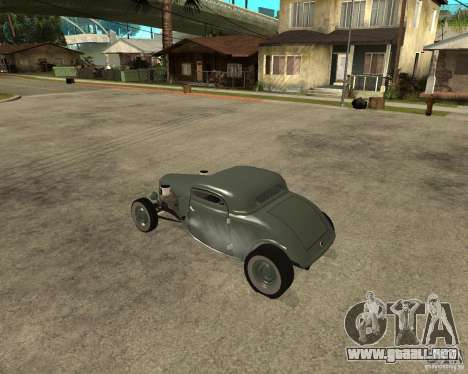Ford 34 Rod para GTA San Andreas left