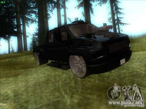 GMC C4500 Pickup DUB Style para GTA San Andreas left