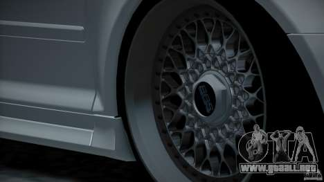 Audi S3 Euro para la vista superior GTA San Andreas