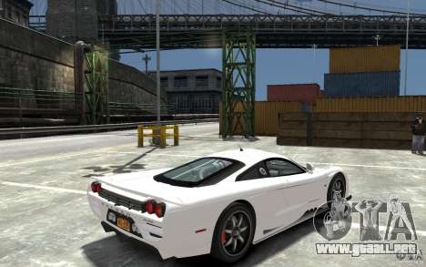 Saleen S7 para GTA 4 visión correcta