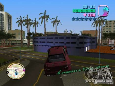 Subaru Impreza WRX STI para GTA Vice City vista posterior
