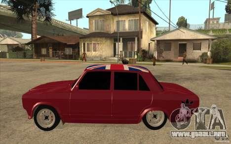 VAZ 2107 Hobo v. 2 para GTA San Andreas left