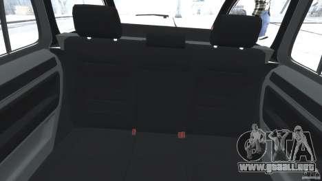 Skoda Octavia Scout Stock para GTA 4 vista hacia atrás